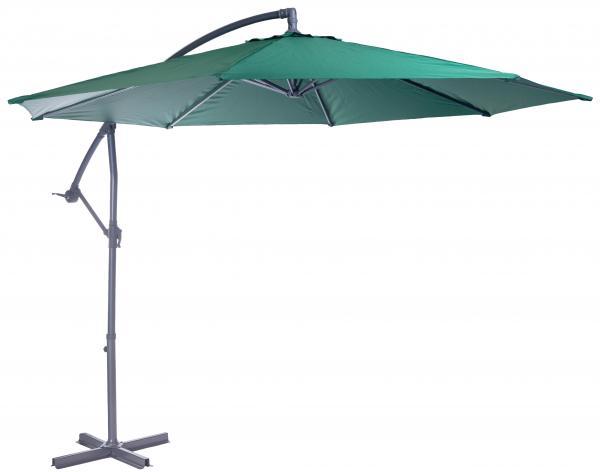 Алуминиев чадър камбана GRENADA зелен Ф300см