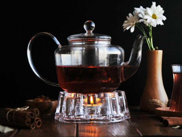 Стъклен чайник, 500 мл. 2
