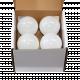 LED крушка 10W E27 3000K  - пакет 4 бр 2