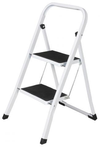 Стълба метална 2 стъпала