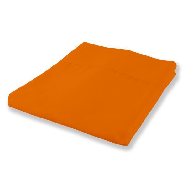 Долен чаршаф двоен 220/240 оранж