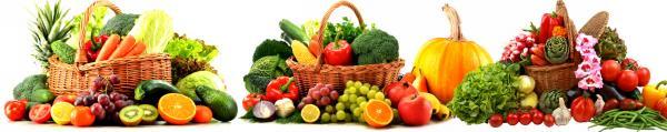 Принт гръб с плод и зеленчук , код 025