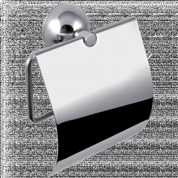 Държач за тоалетна хартия с капак CLASSIC