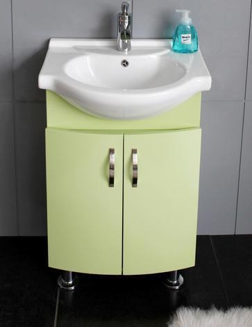Долна част PVC шкаф зелен