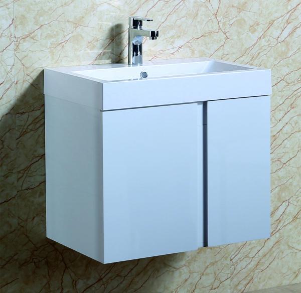 Конзолен PVC шкаф за баня Зори