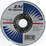 Комплект абразивен диск Инокс ЗАИ 115х1х22,2  - 5 бр/пакет