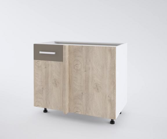 Urban долен шкаф с една врата и мъртво(40+50см) ляв, лате