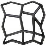 Форма за отливка пластмасова 40х40х4,5см.
