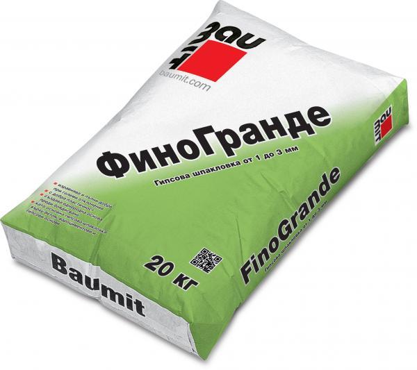 Гипсова шпакловка Fino G 20 кг