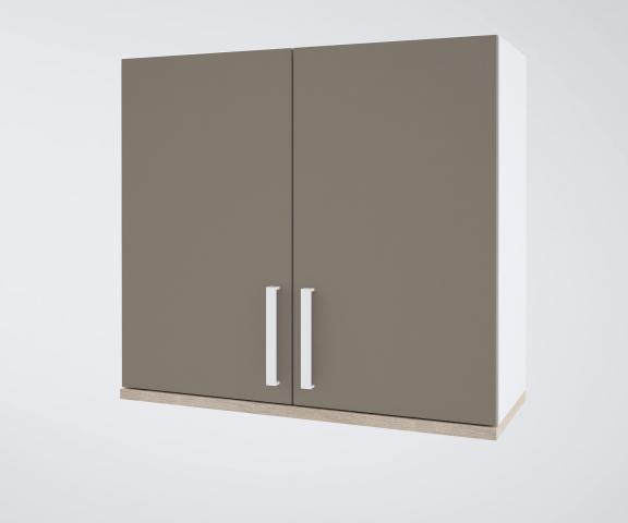 Urban горен шкаф с две врати 90см, лате