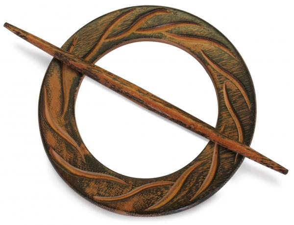 Декоративна халка кръг натюр