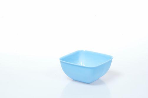 Квадратна пластмасова купа 2л