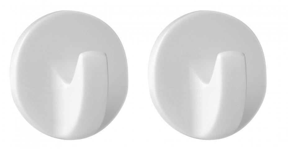 2 закачалки бели кръгли