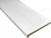 Подпрозоречна дъска бяла 10х150 см