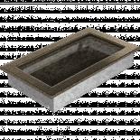 Решетка 17/30 см златно/черно