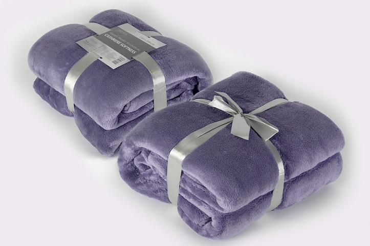 Одеяло Cashmere Softness лилаво 150х200 см