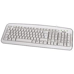Клавиатура   К210, бяла, USB HAMA