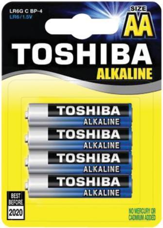 Батерии Toshiba Blue Line LR6x4