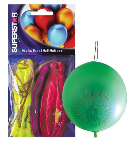 Балони топка с ластик