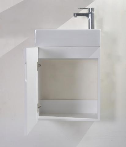 PVC шкаф с умивалник-45 см 2