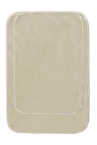 Комплект килими за баня бежов