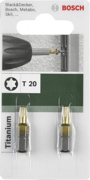 Битове Bosch Titanium Т20 25мм