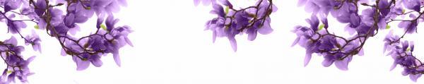Принт гръб с цветя, код 03