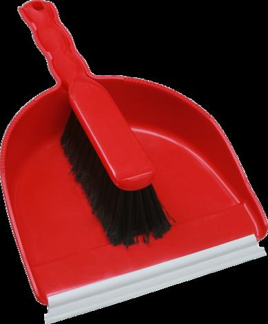 Лопатка с гума и четка