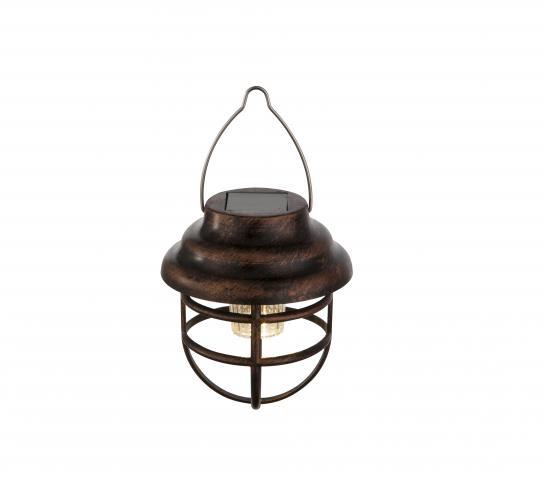 Соларна лампа Рустик фенер