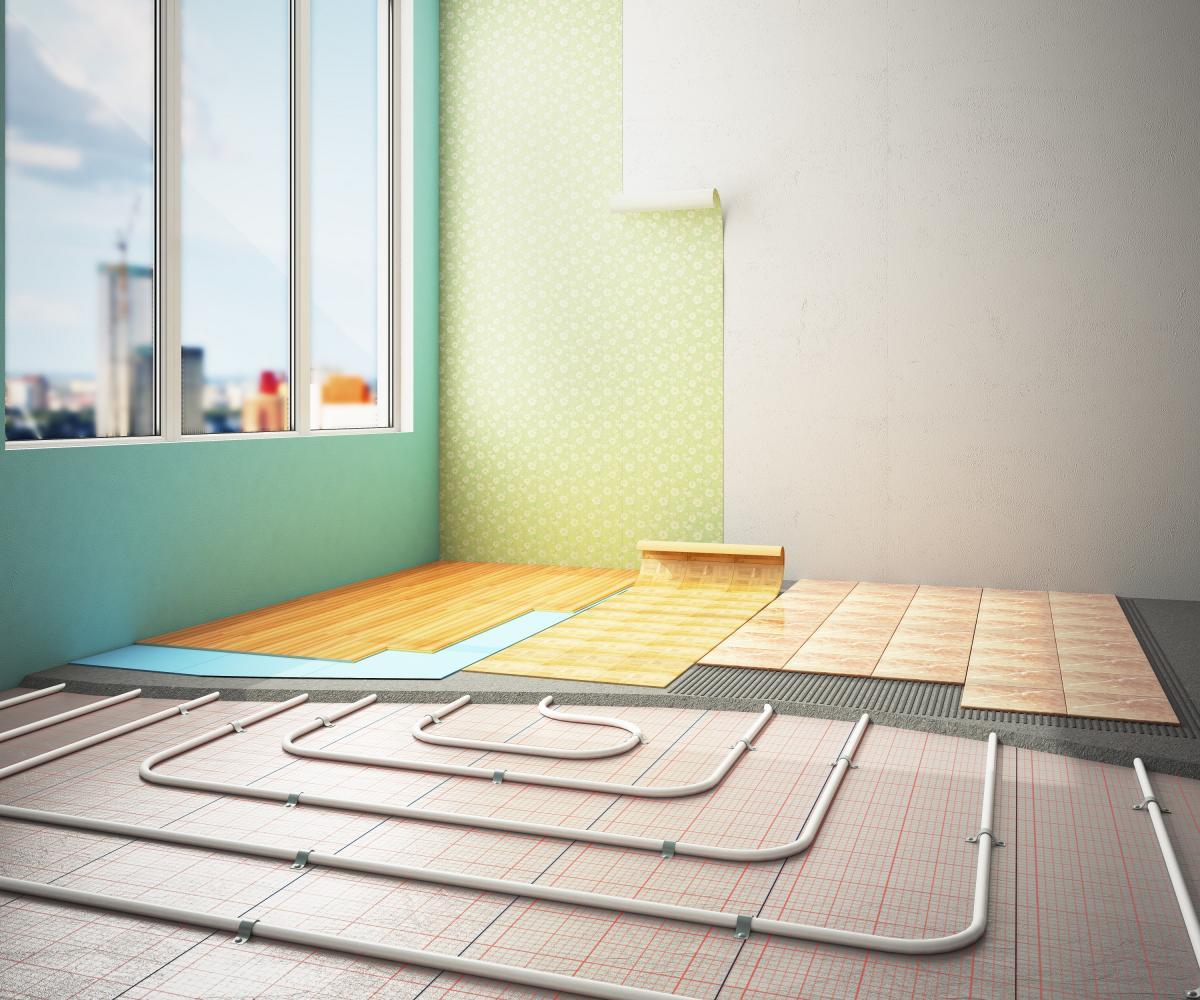 Видове подово отопление
