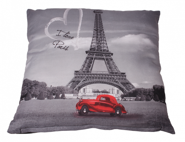 Деко възглавница Paris 40x40 см