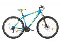 "Велосипед HI-FLY 29""x19"" син мат"