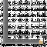 Рамка дърво 21х30 см сребро