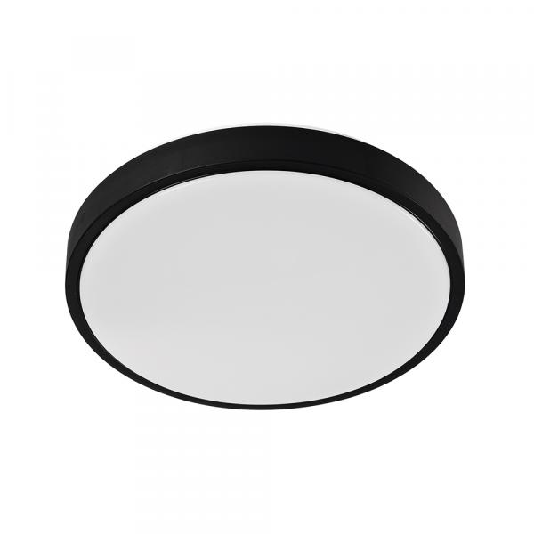 LED плафон за баня Black Ring, 18W, IP44