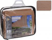 Триъгълен сенник 3х3х3м, цвят пясък