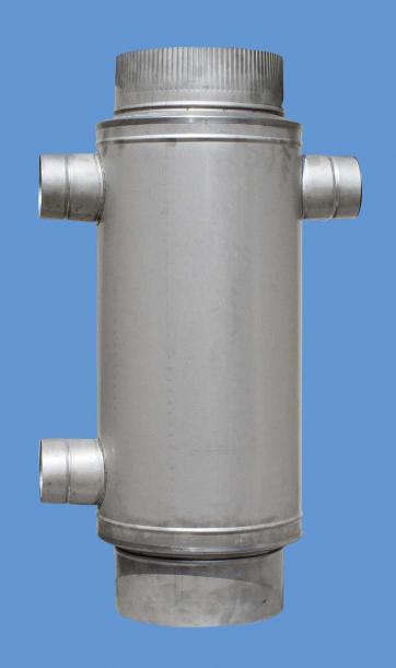 Въздушна риза Ф230 60х80 инокс