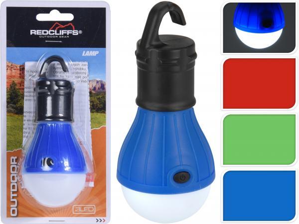 Къмпинг LED лампа във формата на крушка