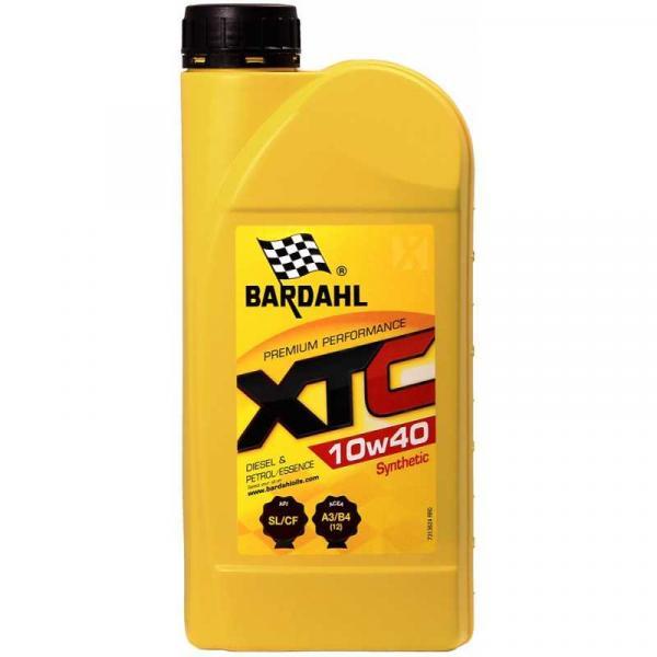 Двигателно масло BARDAHL XTC 10W40 1л