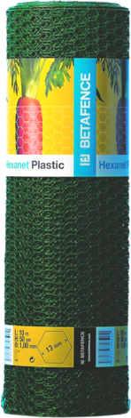 Оградна мрежа HEXANET+PVC