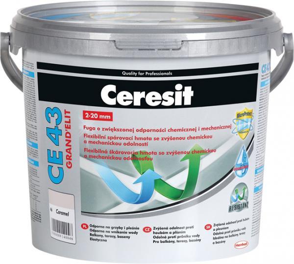 Гъвкава фугираща смес CE43, 5 кг карамел