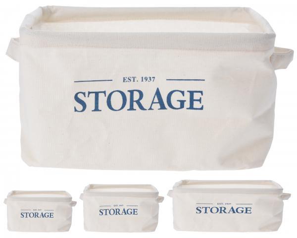 Правоъгълна кошница за съхранение средна