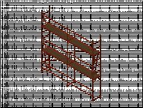 Скеле GD-42,H-6m,L-5m