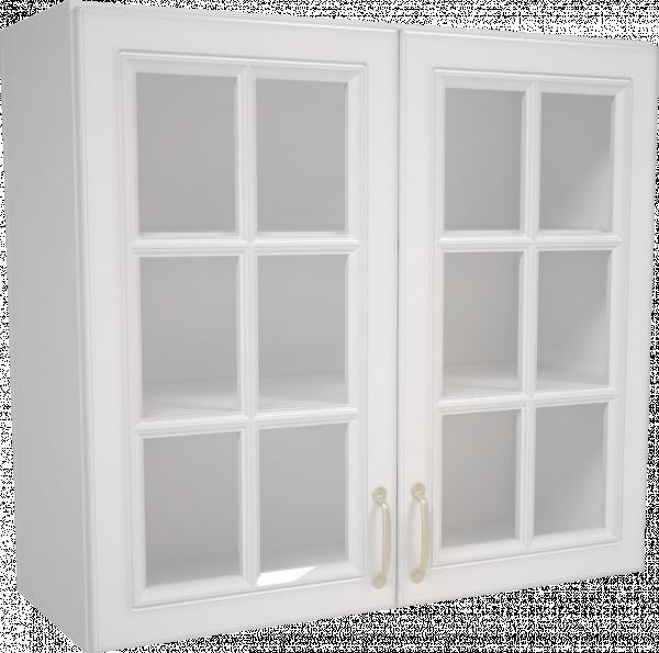 Горен шкаф с витрина 80х72 Мишел