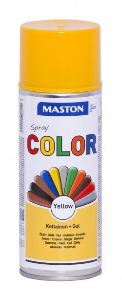 Спрей боя Maston 0.4л, жълт гланц
