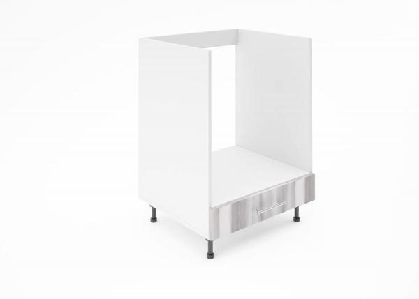 Крафт D8 долен шкаф за фурна 60см, дъб бронз
