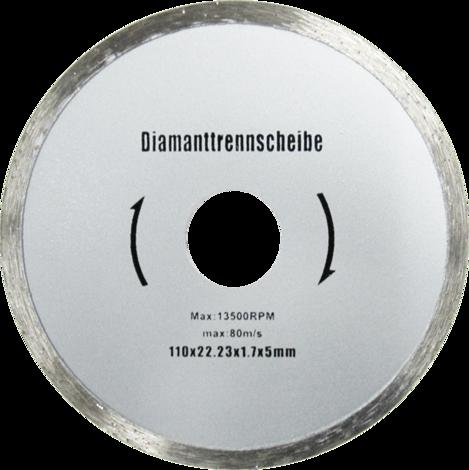 Диамантен диск 110мм