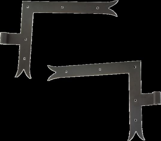 Ъглова панта М 4000, лява 300Х240Х4 Ф14