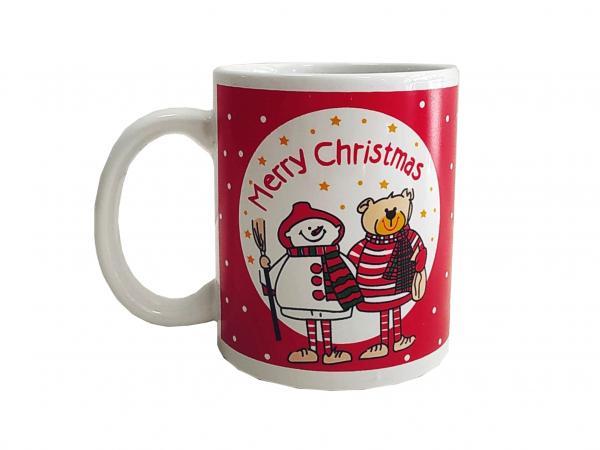 Чаша Коледна порцелан