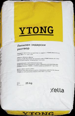 лепило зидане газобетон 25kg