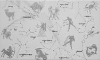 Декор Zodiac Nairobi blanco Mix